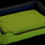 Hundebett wendebett Twixy grün/grau