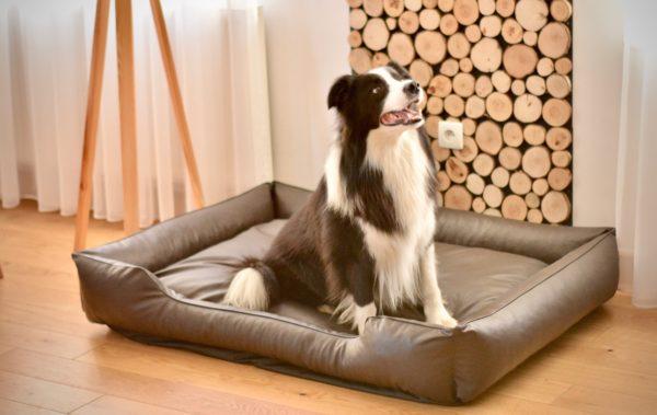 legowisko dla psa brązowe 8
