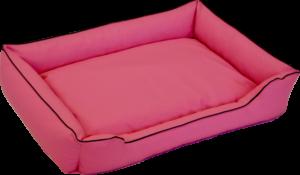 Hundebett Bobby rosa